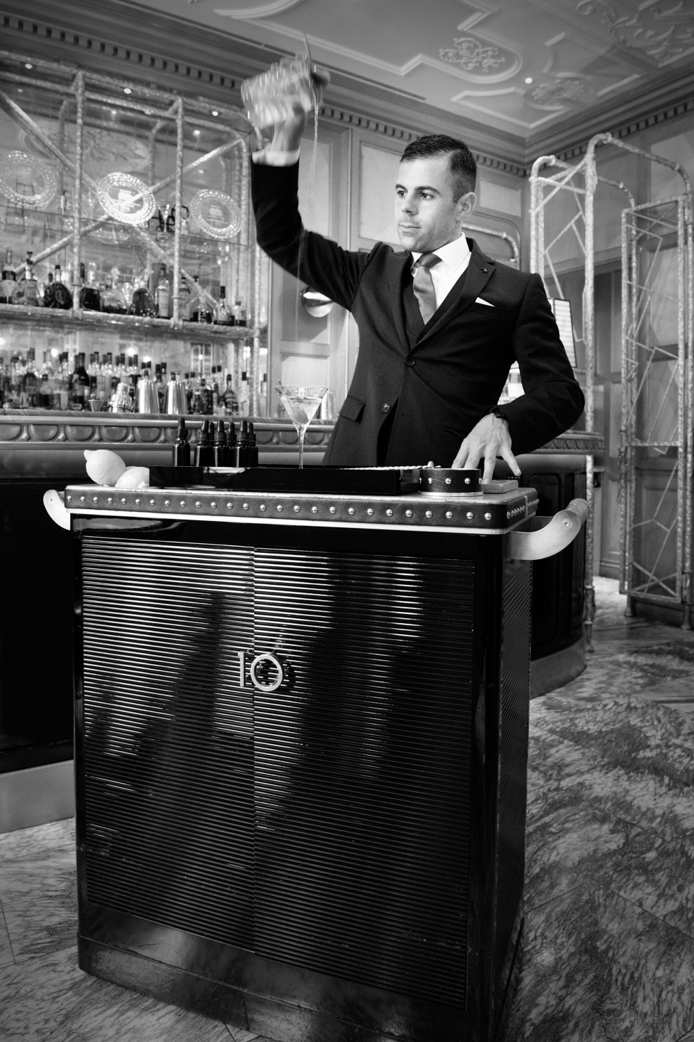 Agostino Perrone & Drinks at the Connaught Bar