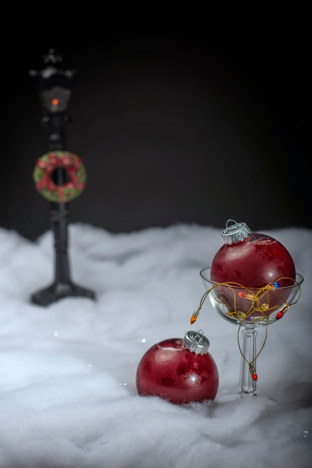 Fallen Ornaments By Josue Romero
