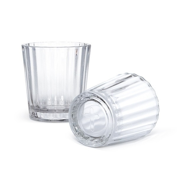 Veladora mezcl glass